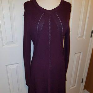 Michael Kors burgundy colored knit dress, XL